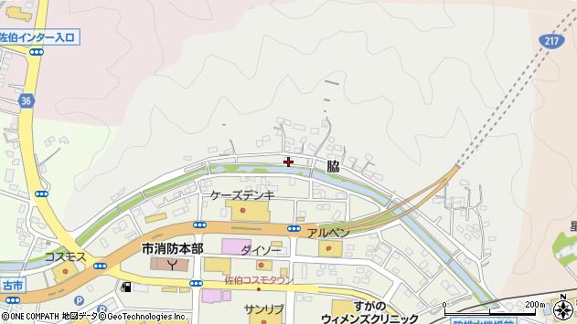 大分県佐伯市鶴望958周辺の地図
