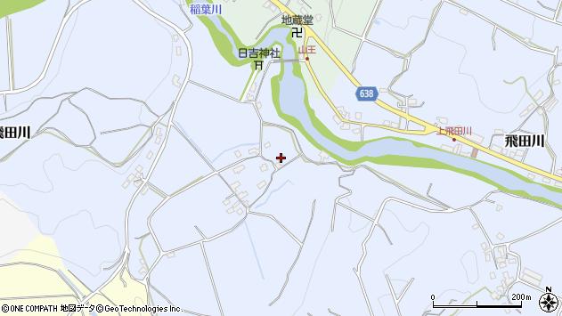 大分県竹田市飛田川971周辺の地図