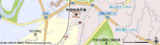 大分県竹田市竹田1509周辺の地図