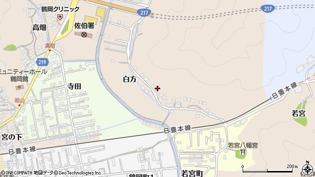 大分県佐伯市鶴望3927周辺の地図