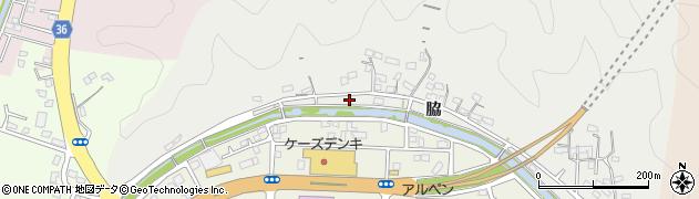 大分県佐伯市鶴望953周辺の地図