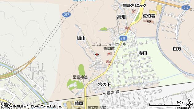 大分県佐伯市鶴望2522周辺の地図