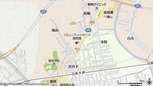 大分県佐伯市鶴望2525周辺の地図