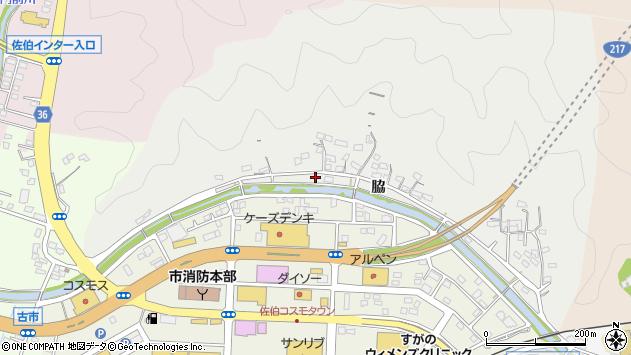 大分県佐伯市鶴望956周辺の地図