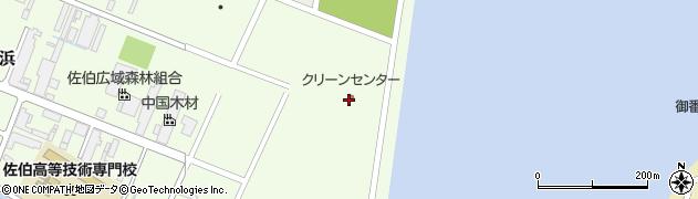 大分県佐伯市西浜4周辺の地図