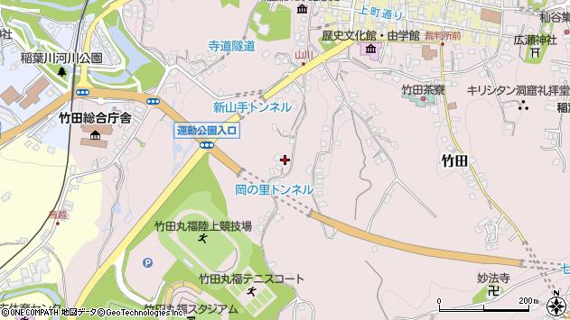 大分県竹田市竹田2221周辺の地図