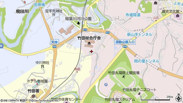 大分県竹田市竹田1504周辺の地図