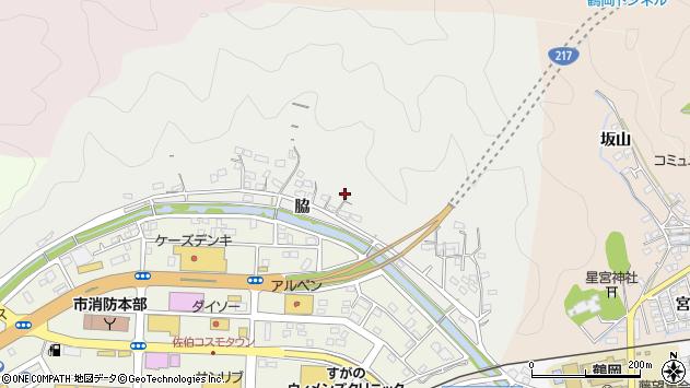 大分県佐伯市鶴望1030周辺の地図