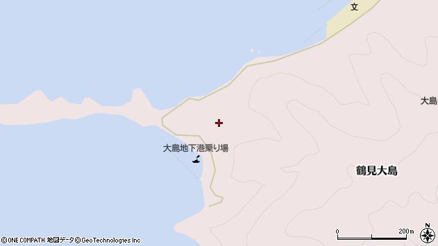 大分県佐伯市鶴見大字大島360周辺の地図
