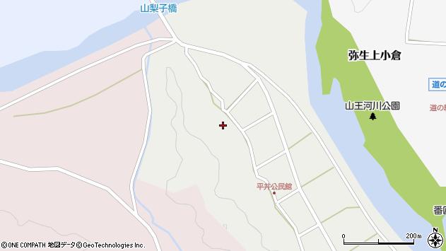 大分県佐伯市弥生大字平井323周辺の地図