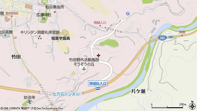 大分県竹田市竹田573周辺の地図