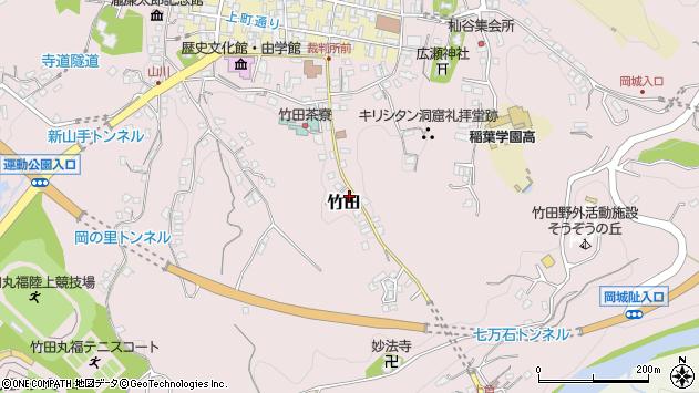 大分県竹田市竹田2436周辺の地図