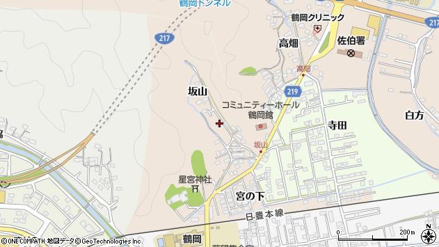 大分県佐伯市鶴望2509周辺の地図