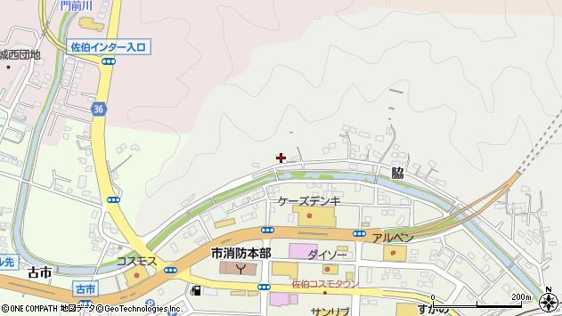 大分県佐伯市鶴望1105周辺の地図