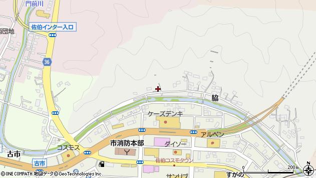 大分県佐伯市鶴望1103周辺の地図