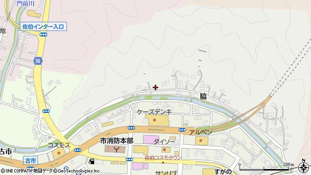 大分県佐伯市鶴望1097周辺の地図