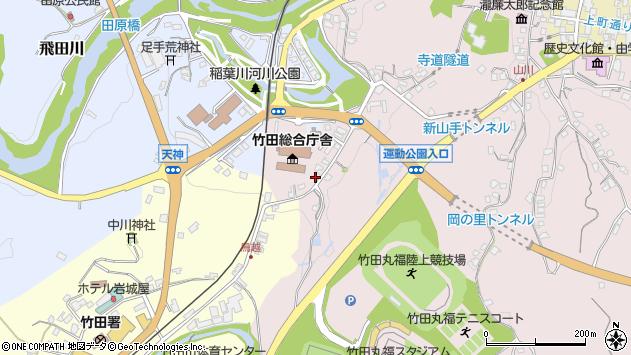 大分県竹田市竹田1507周辺の地図