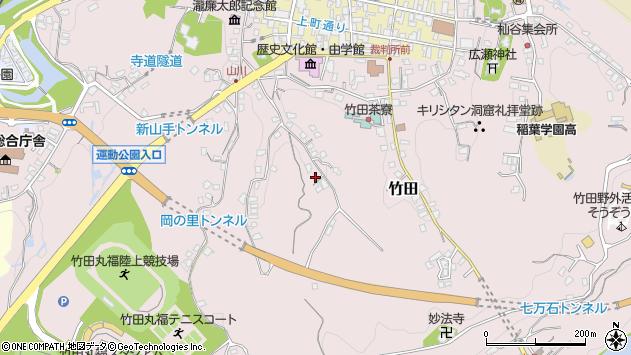 大分県竹田市竹田2338周辺の地図