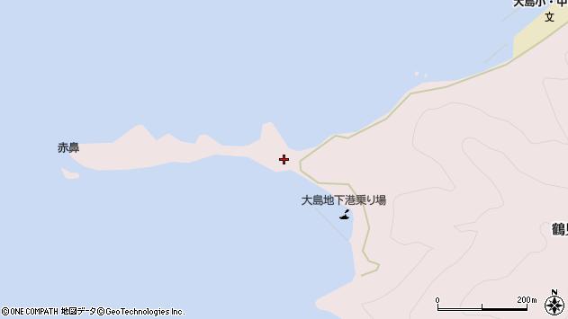 大分県佐伯市鶴見大字大島392周辺の地図