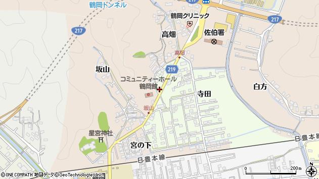 大分県佐伯市鶴望2616周辺の地図