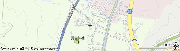 大分県佐伯市稲垣184周辺の地図