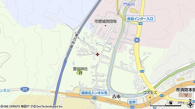 大分県佐伯市稲垣139周辺の地図