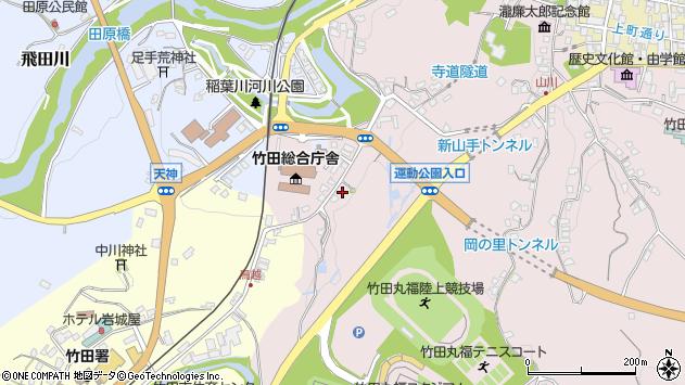 大分県竹田市竹田1513周辺の地図