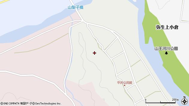 大分県佐伯市弥生大字平井347周辺の地図