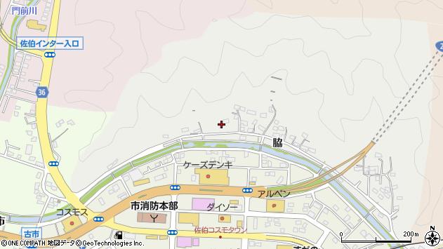 大分県佐伯市鶴望1093周辺の地図