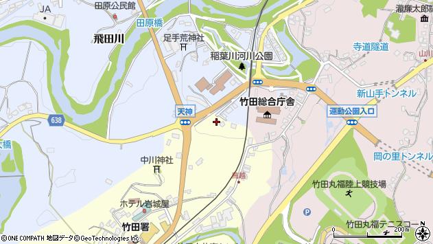 大分県竹田市拝田原112周辺の地図