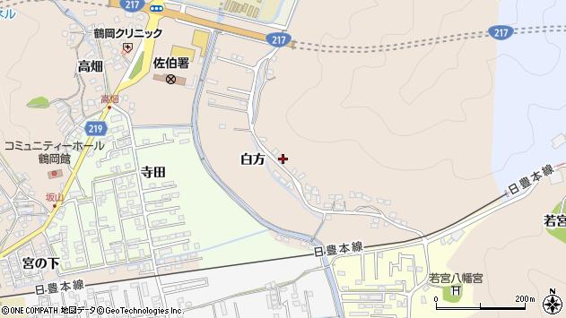 大分県佐伯市鶴望3921周辺の地図