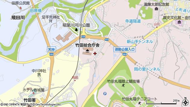 大分県竹田市竹田1508周辺の地図