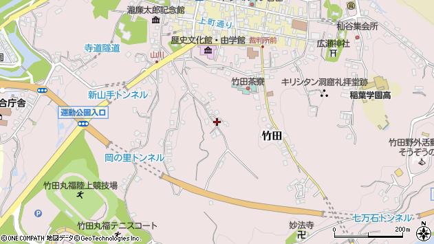 大分県竹田市竹田2336周辺の地図