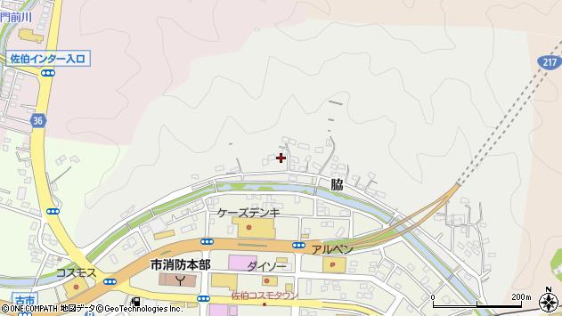 大分県佐伯市鶴望1089周辺の地図
