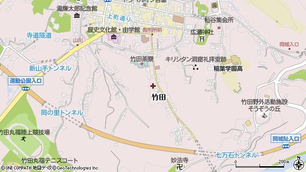大分県竹田市竹田2428周辺の地図