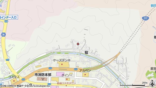 大分県佐伯市鶴望1083周辺の地図