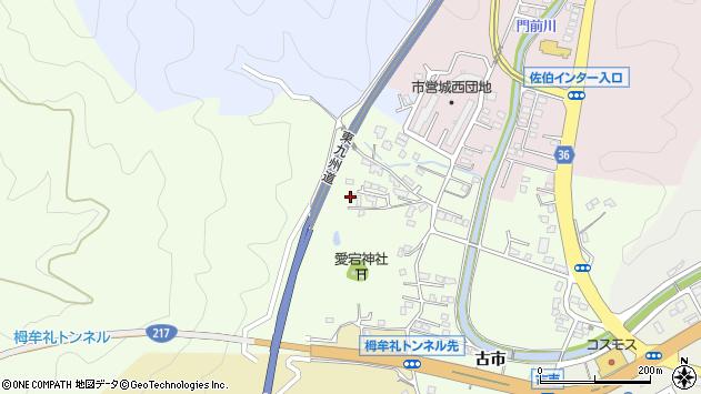 大分県佐伯市稲垣168周辺の地図