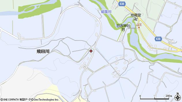大分県竹田市飛田川691周辺の地図