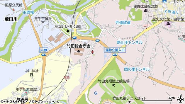 大分県竹田市竹田1519周辺の地図