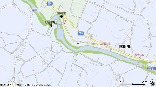 大分県竹田市飛田川2621周辺の地図