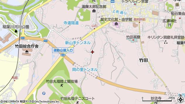 大分県竹田市竹田2226周辺の地図