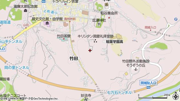 大分県竹田市竹田2040周辺の地図