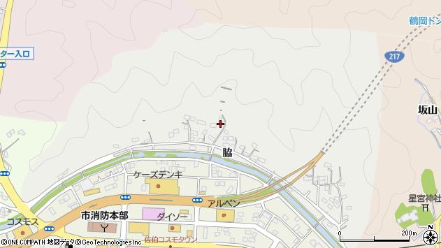 大分県佐伯市鶴望1051周辺の地図