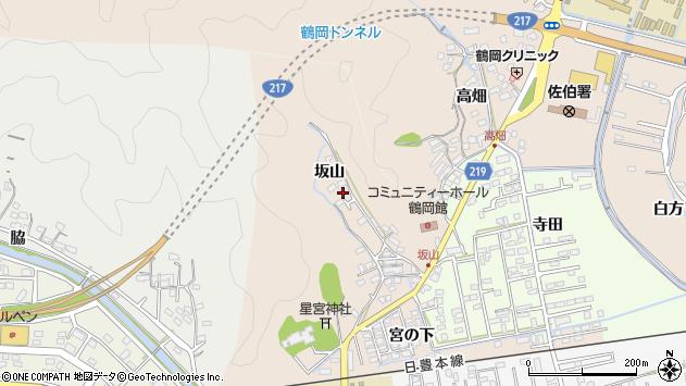 大分県佐伯市鶴望2504周辺の地図