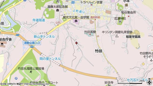 大分県竹田市竹田2341周辺の地図