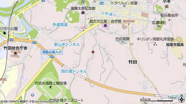 大分県竹田市竹田2326周辺の地図