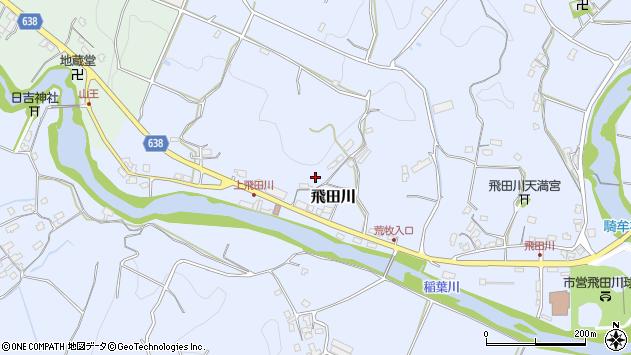 大分県竹田市飛田川2528周辺の地図