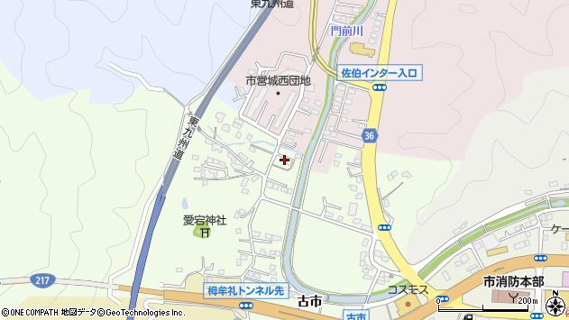 大分県佐伯市稲垣119周辺の地図