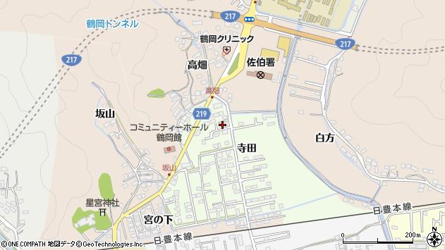 大分県佐伯市鶴望2621周辺の地図