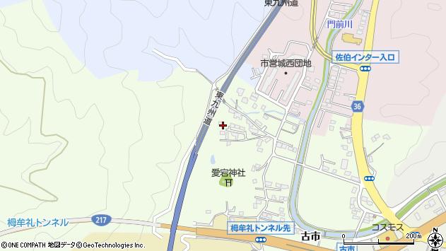 大分県佐伯市稲垣59周辺の地図